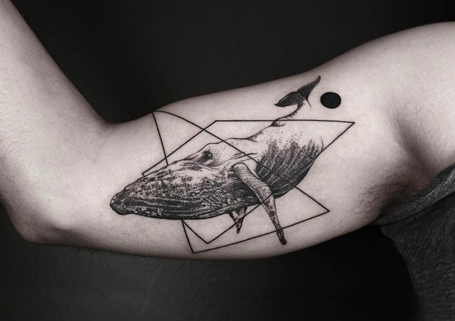 Tattoos Designs Demilked Geometric Tattoos That Combine Fine Lines And Nature