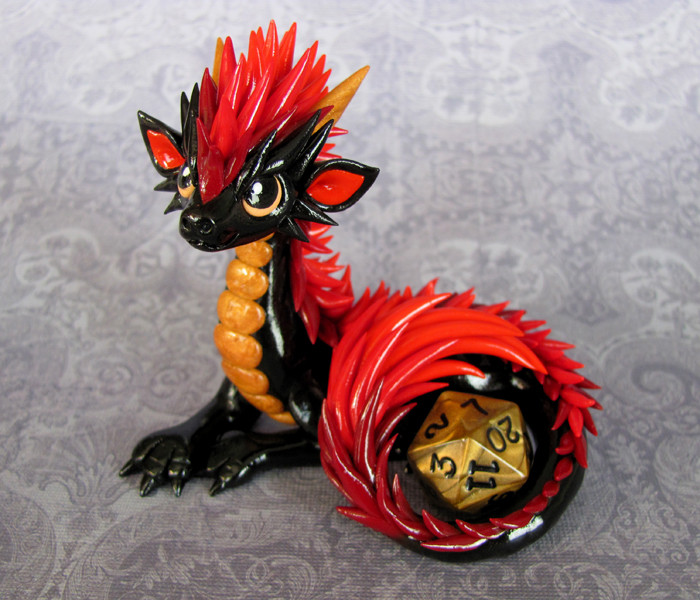 Red Clay Dragon: Artist Creates Cute Sculptures That Look Like Dragons