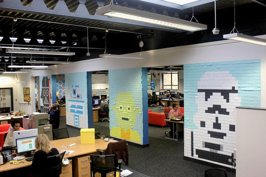 star-wars-post-it-sticky-note-mural-office-viking-7