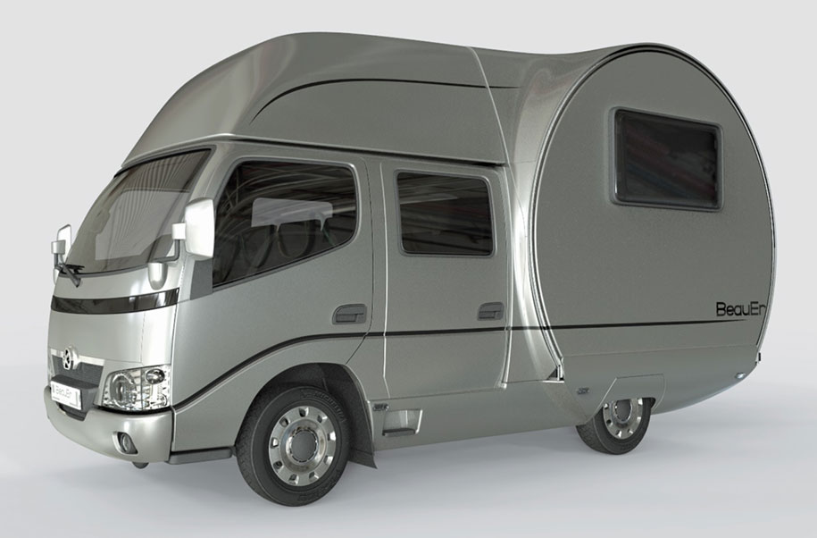 The 3xc Camper Van Is Planned To Be Released This Year