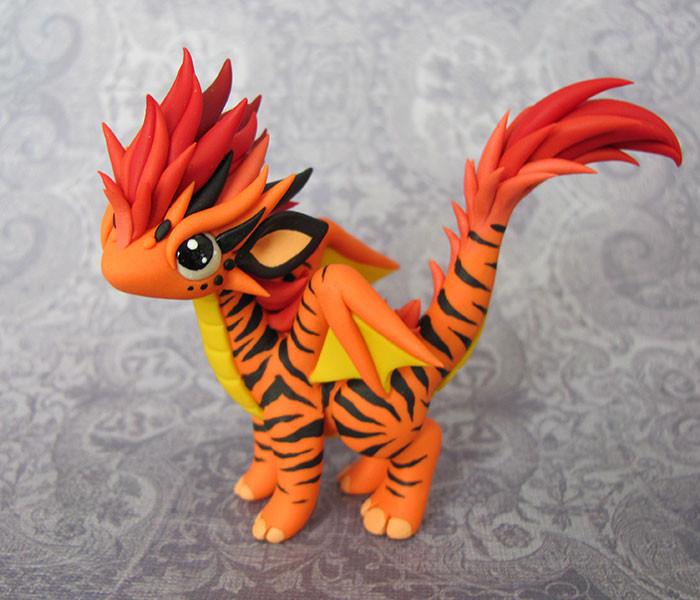 Artist Creates Cute Sculptures That Look Like Dragons