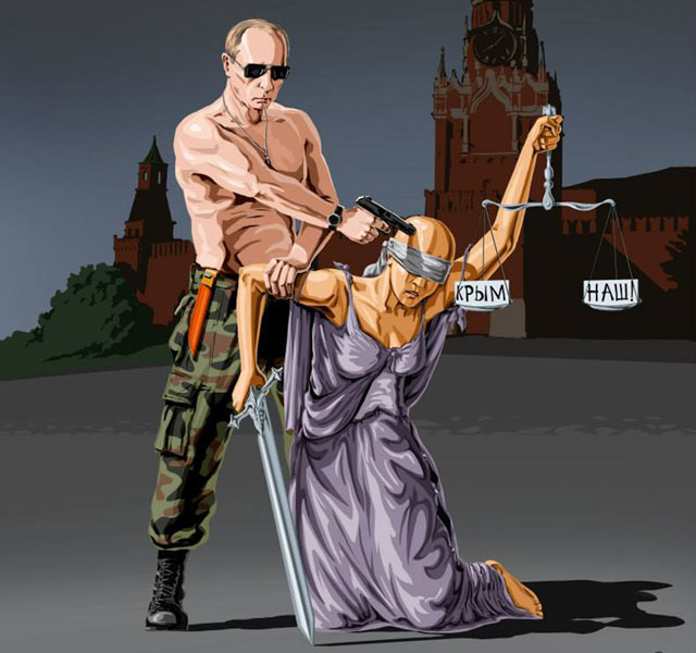 Satirical Illustrations Of Justice Around The World Demilked