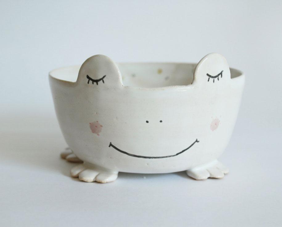 Handmade Animal Pottery By Polish Artist Clay Opera