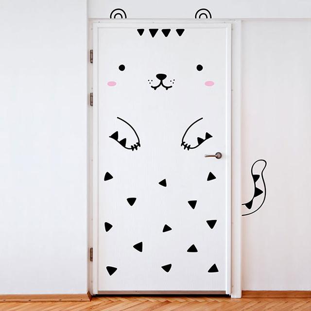 sc 1 st  DeMilked & Door Stickers That Transform Your Boring Doors Into Cute Animals