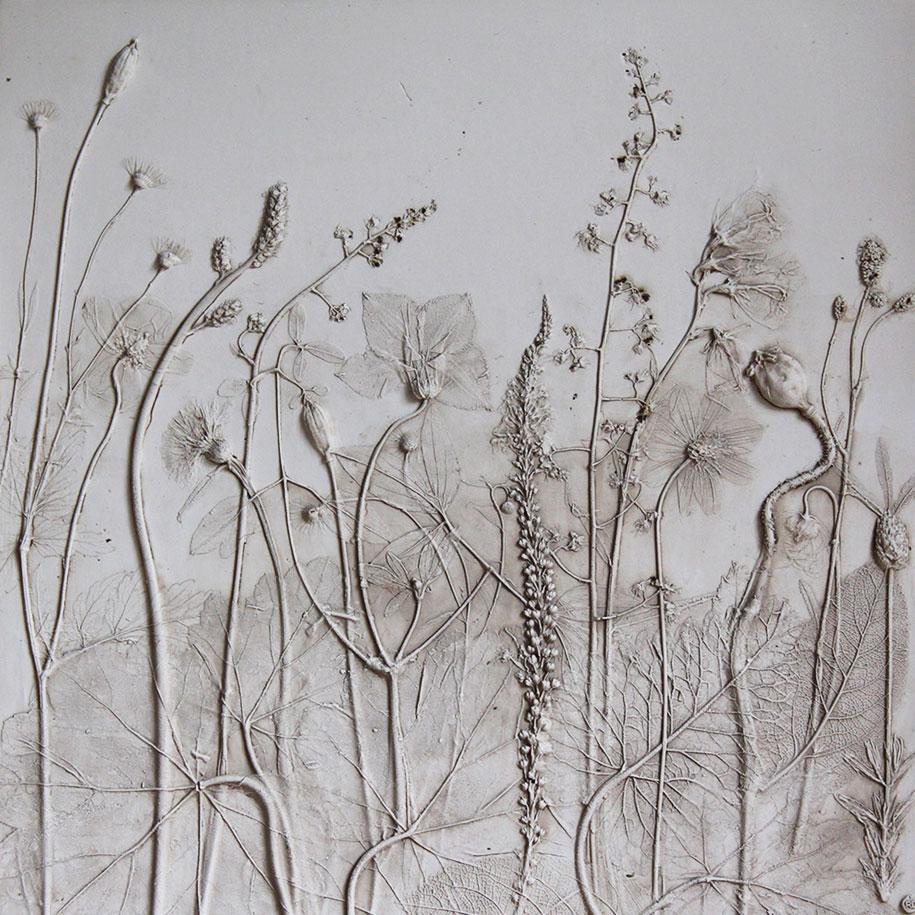 artificial-plaster-cast-flower-fossils-rachel-dein-16