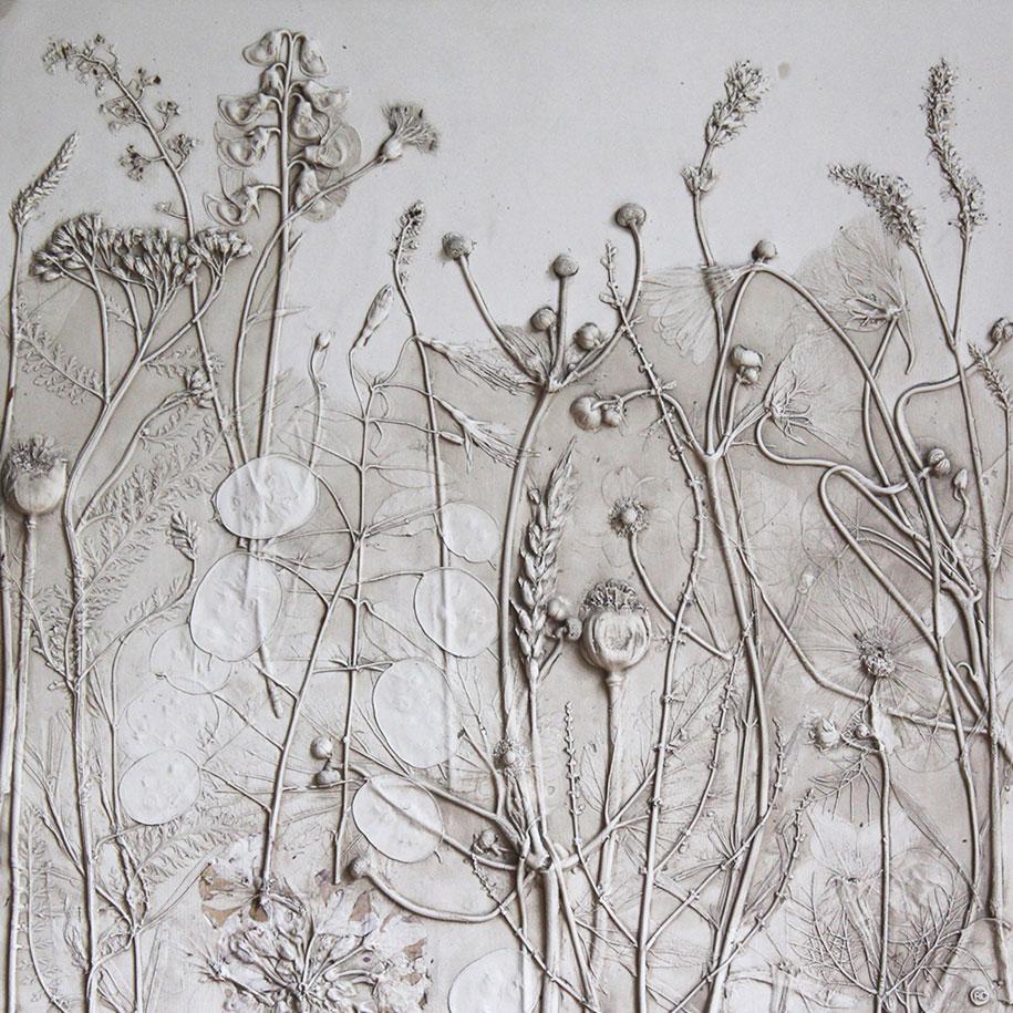 artificial-plaster-cast-flower-fossils-rachel-dein-17