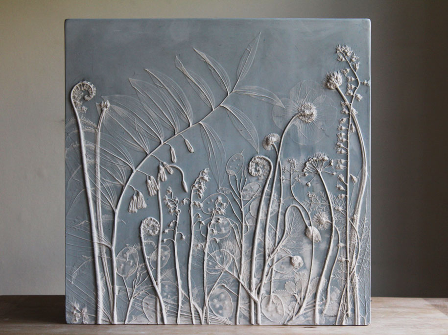 artificial-plaster-cast-flower-fossils-rachel-dein-8