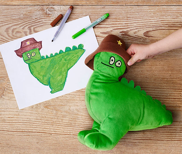 Ikea turns kids drawing into toys sells them to raise for Ikea children toys