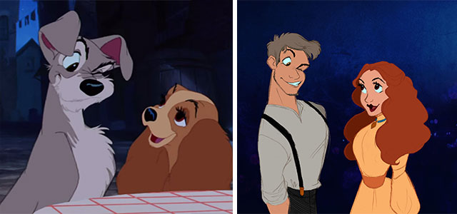 Disney Characters As Humans