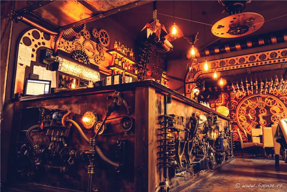 Worlds First Kinetic Steampunk Bar Opens In Romania