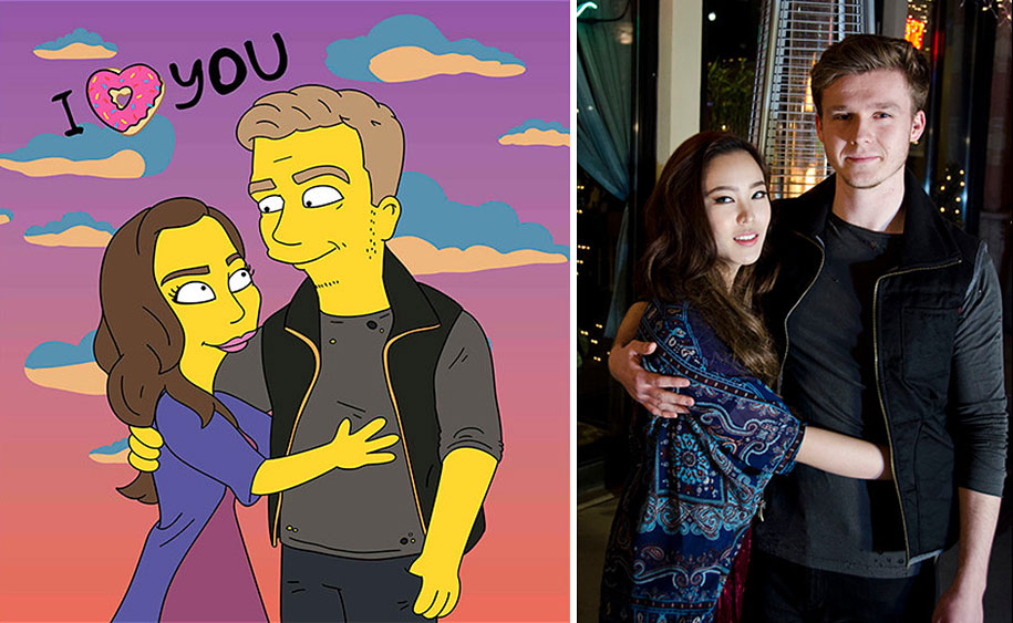random-people-portraits-reimagine-simpsons-valerie-zaremska-4