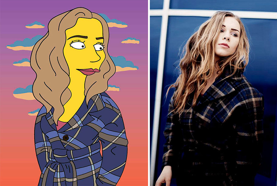 random-people-portraits-reimagine-simpsons-valerie-zaremska-6