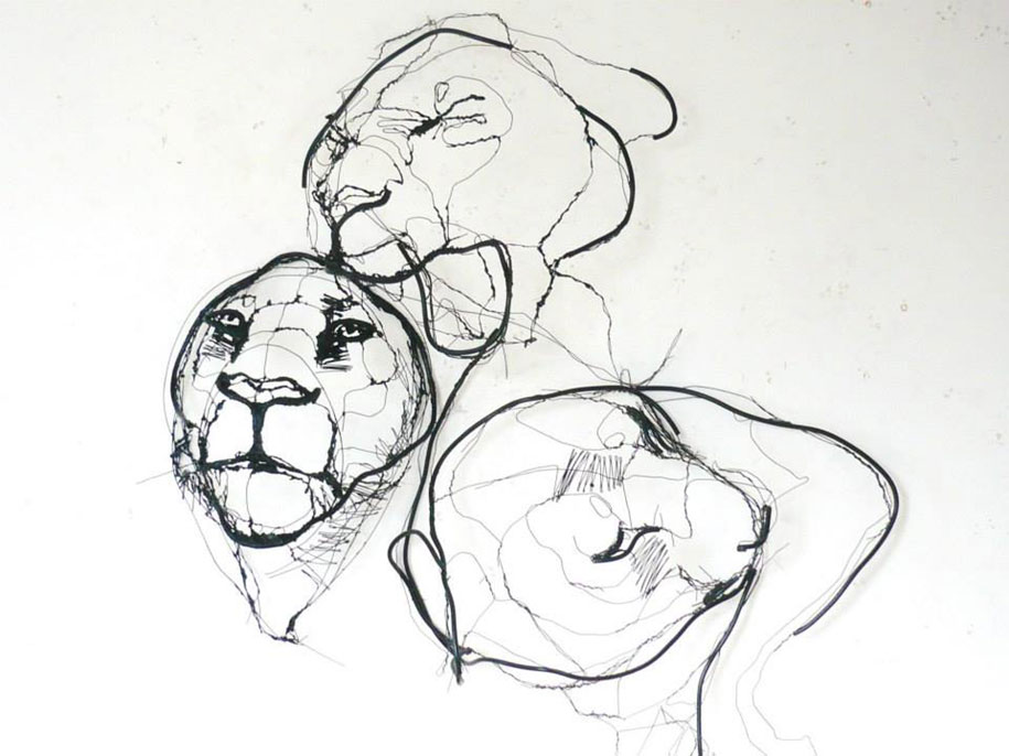 sketchbook-scribble-wire-animal-sculpture-statues-david-oliveira-portugal-10
