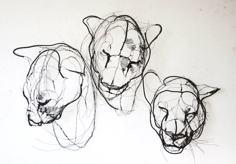 sketchbook-scribble-wire-animal-sculpture-statues-david-oliveira-portugal-11