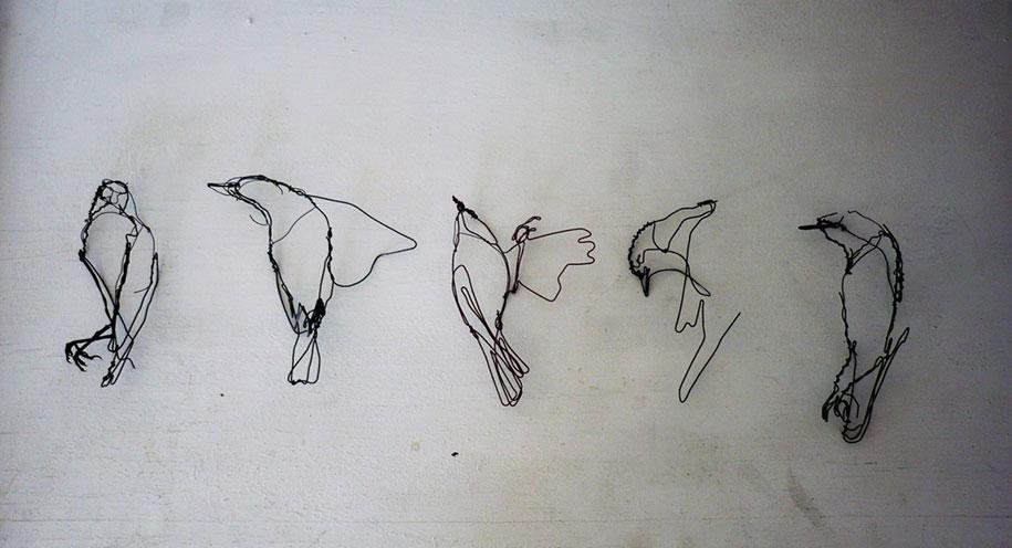 sketchbook-scribble-wire-animal-sculpture-statues-david-oliveira-portugal-3