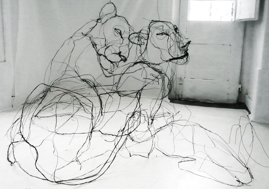 sketchbook-scribble-wire-animal-sculpture-statues-david-oliveira-portugal-4