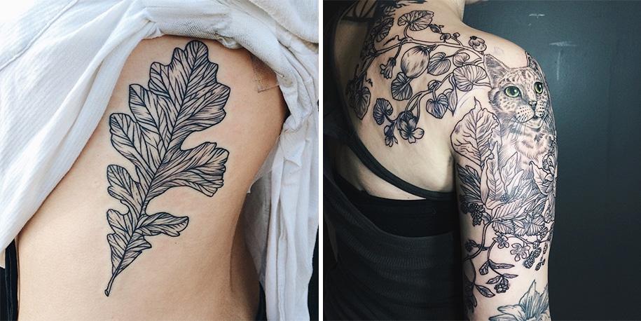 vintage-naturalistic-animal-plant-tattoos-pony-reinhardt-tenderfoot-10