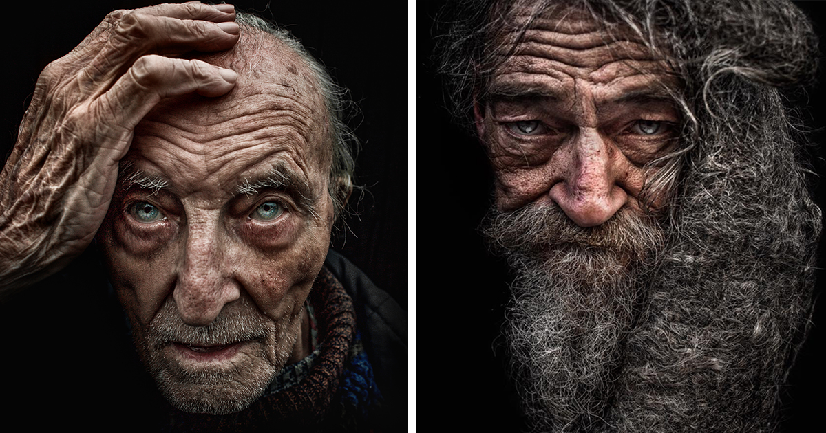 Homeless People Portraits Photography By Lee Jeffries: Photographer Becomes Homeless So He Could Take Gripping