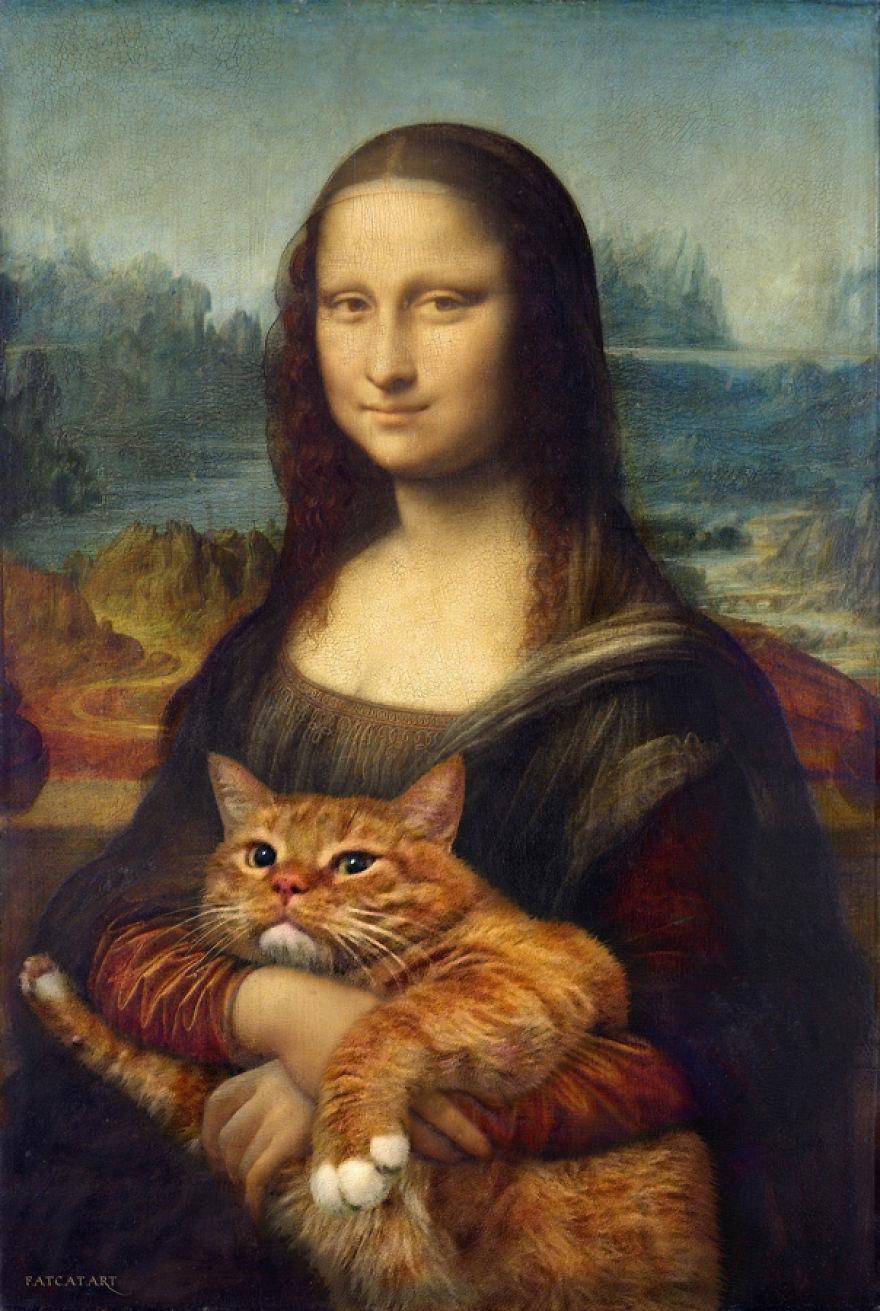 classical-paintings-zarathustra-fat-cat-art-svetlana-petrova-1