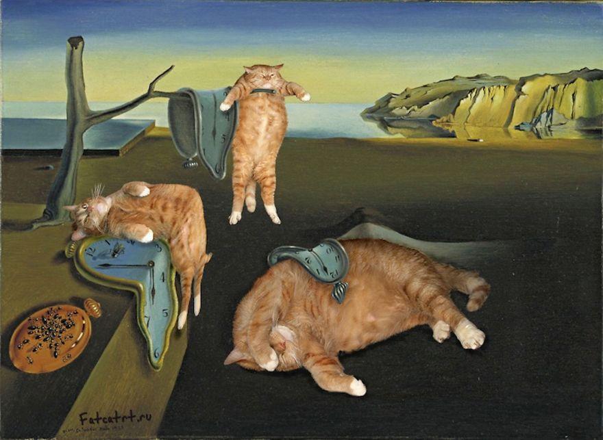 classical-paintings-zarathustra-fat-cat-art-svetlana-petrova-2