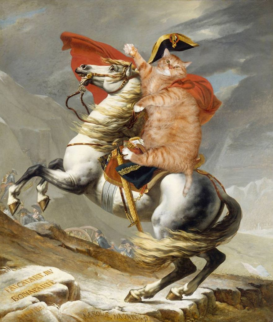 classical-paintings-zarathustra-fat-cat-art-svetlana-petrova-3