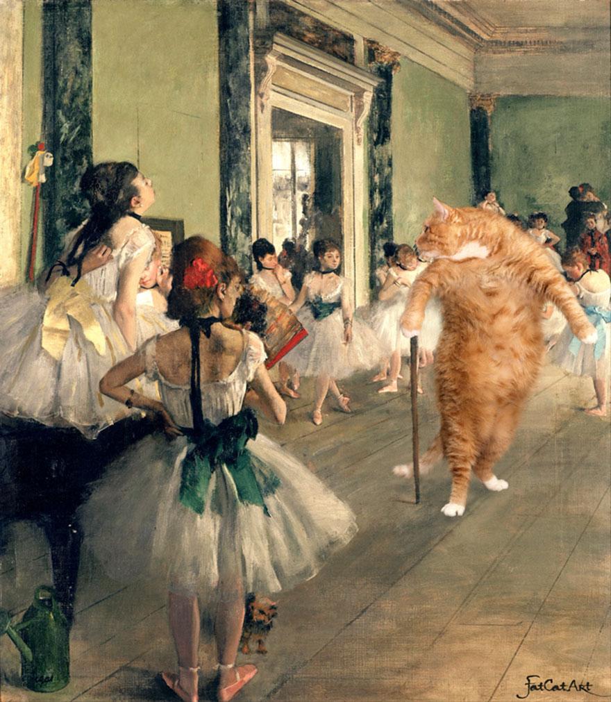 classical-paintings-zarathustra-fat-cat-art-svetlana-petrova-4