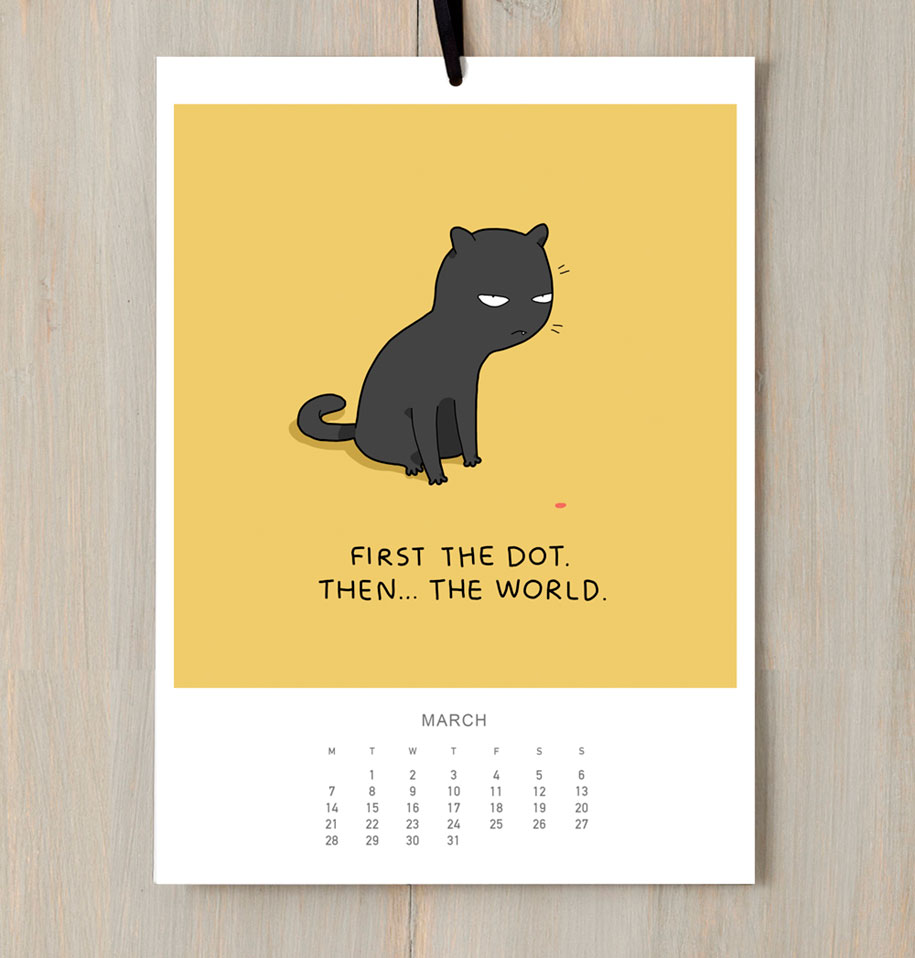 cute-illustrations-2016-cats-wall-calendar-lingvistov-10
