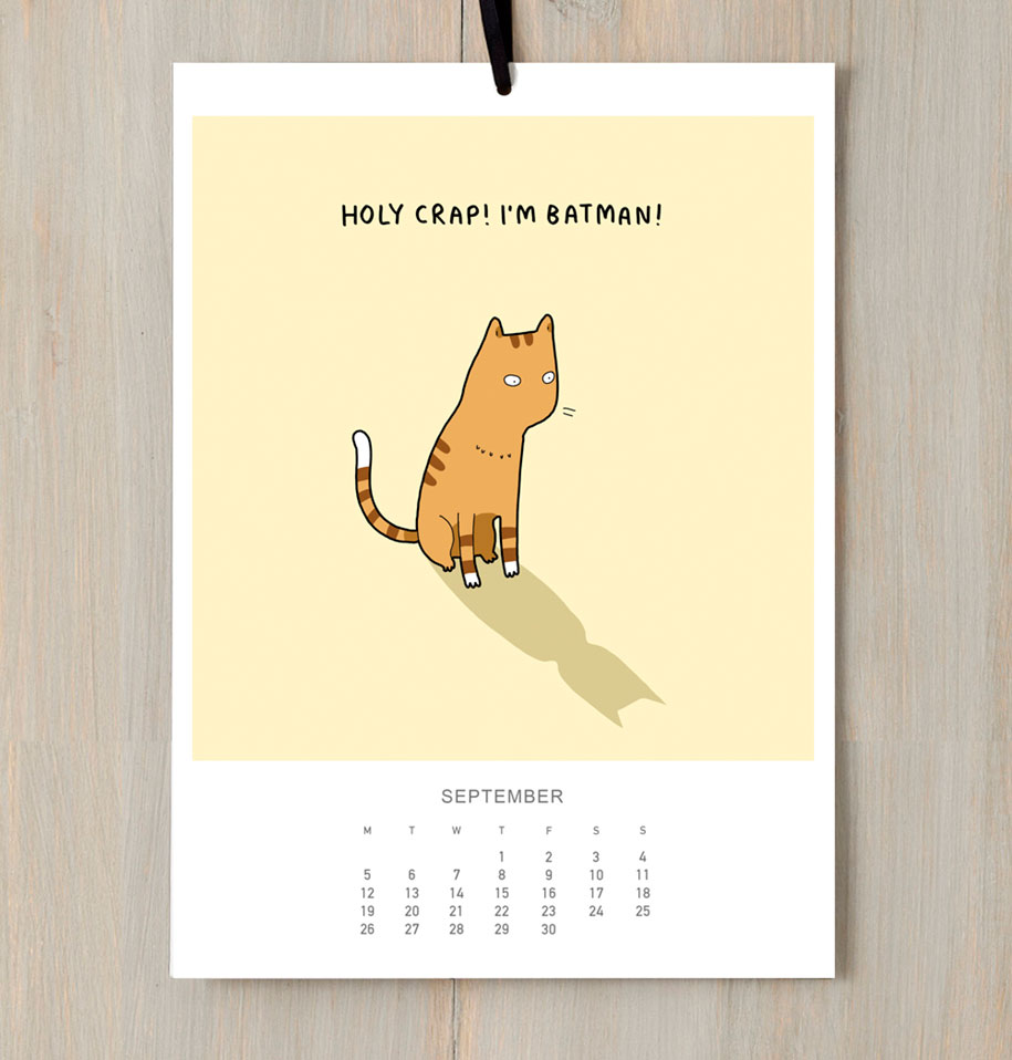 cute-illustrations-2016-cats-wall-calendar-lingvistov-4
