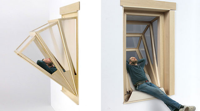 More sky windows transform into balconies to give small for Balcony window