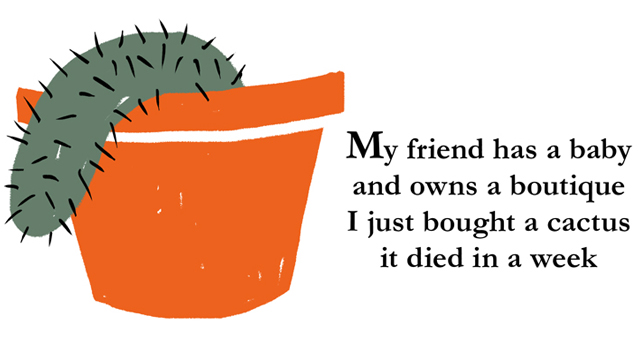 your quarter life crisis summed up in illustrated childrens rhymes