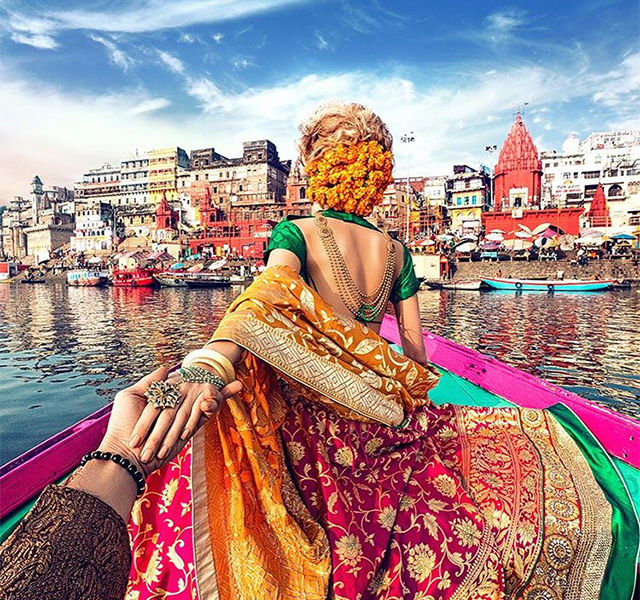 #Followmeto Couple Travels To India And Singapore And ...