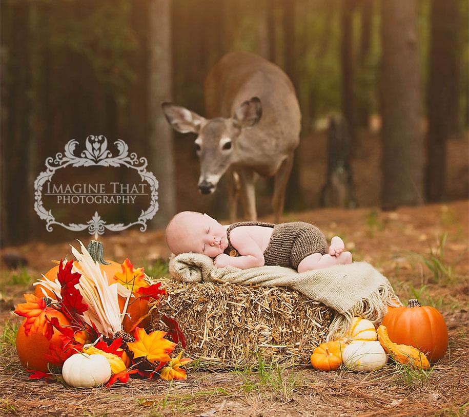maggie-deer-newborn-photoshoot-photobomb-megan-rion-imagine-that-1