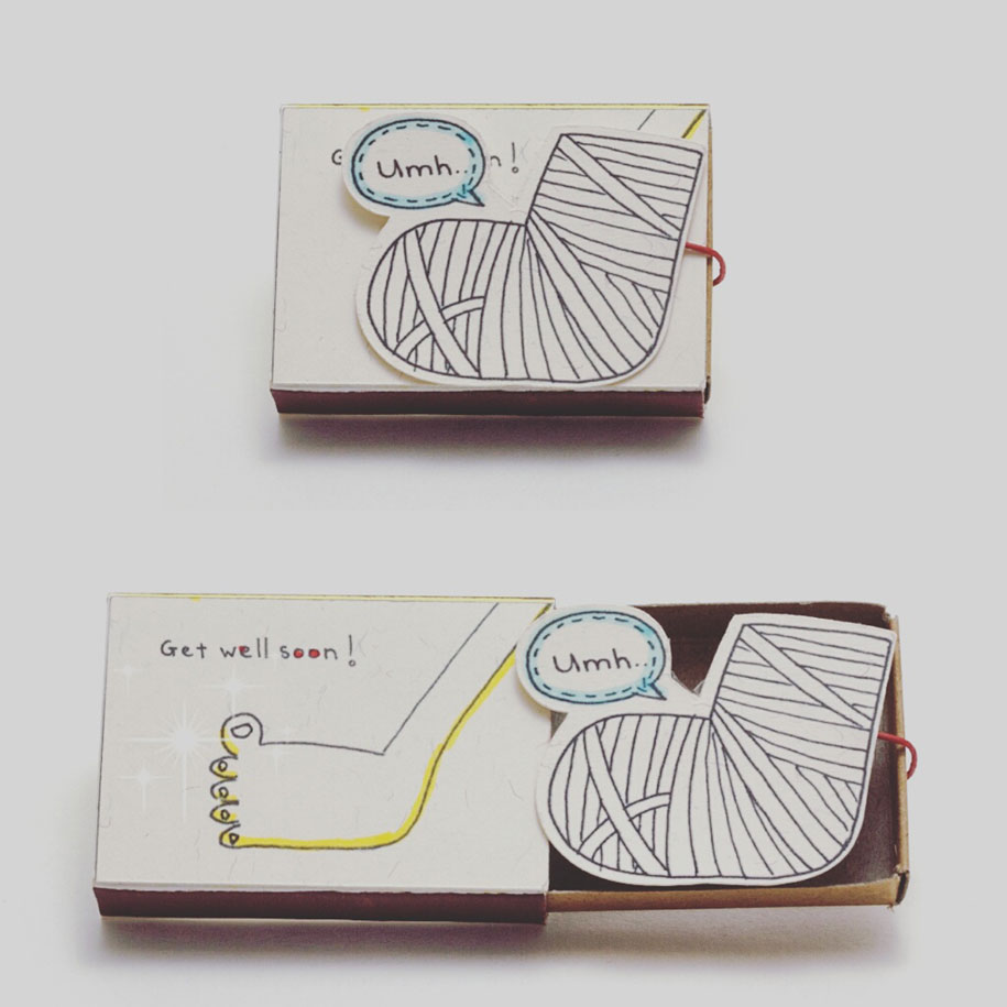 Matchboxes With Cute Hidden Messages To Surprise Your Loved Ones