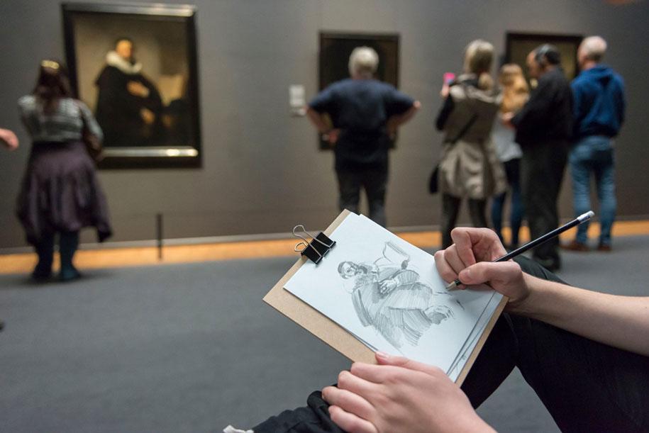 museum-visitor-drawing-sketching-startdrawing-rijksmuseum-amsterdam-22