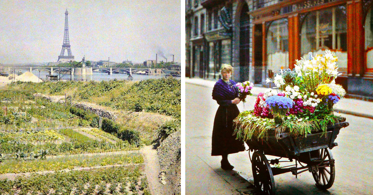 Paris 1914 Rare Color Photos Show How The Capital Looked