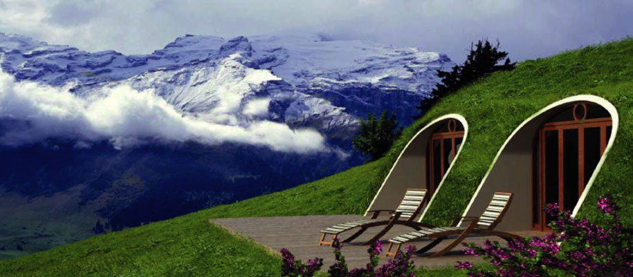 now you can live in a hobbit house that takes only 3 days to assemble. Black Bedroom Furniture Sets. Home Design Ideas