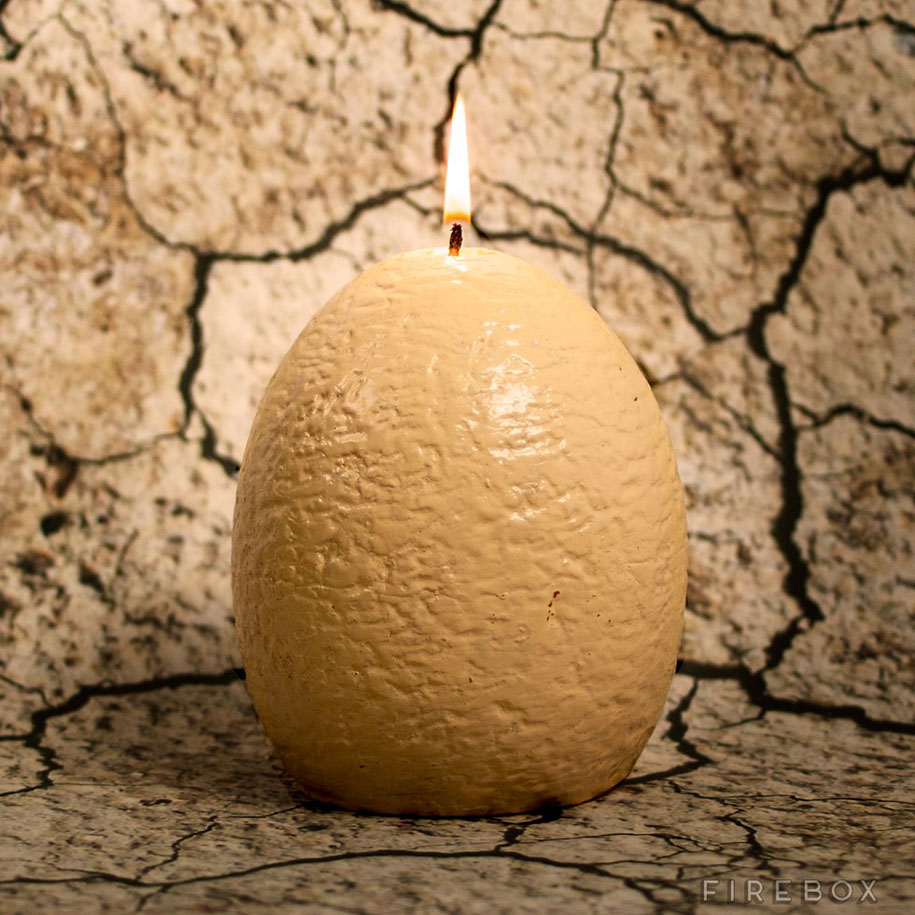 When This Dinosaur Egg Candle Melts It Hatches A Cute