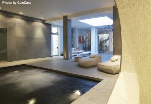 10 most remarkable and creative basement designs that 39 ll for Basement swimming pool ideas