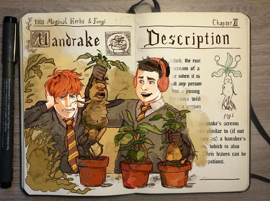 colorful-spell-harry-potter-magic-books-gabriel-picolo-kun-3