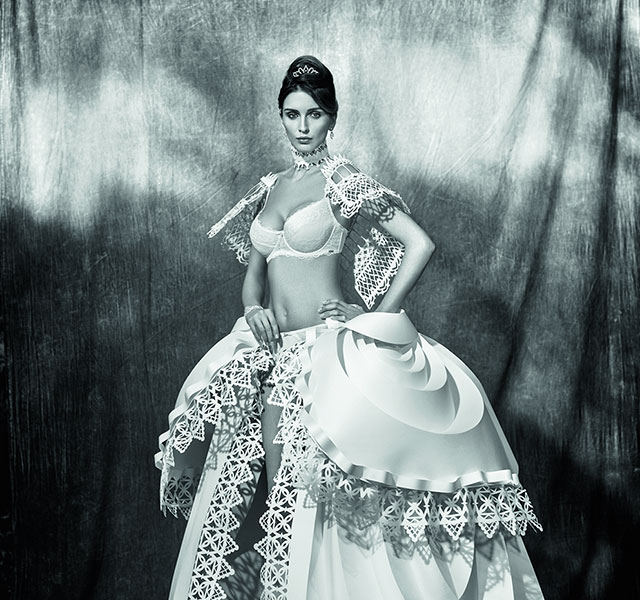 Intricate Paper Wedding Dresses By Asya Kozina