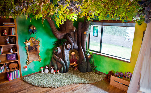 This Dad Spends 18 Months To Transform His Daughter\'s Room Into A ...