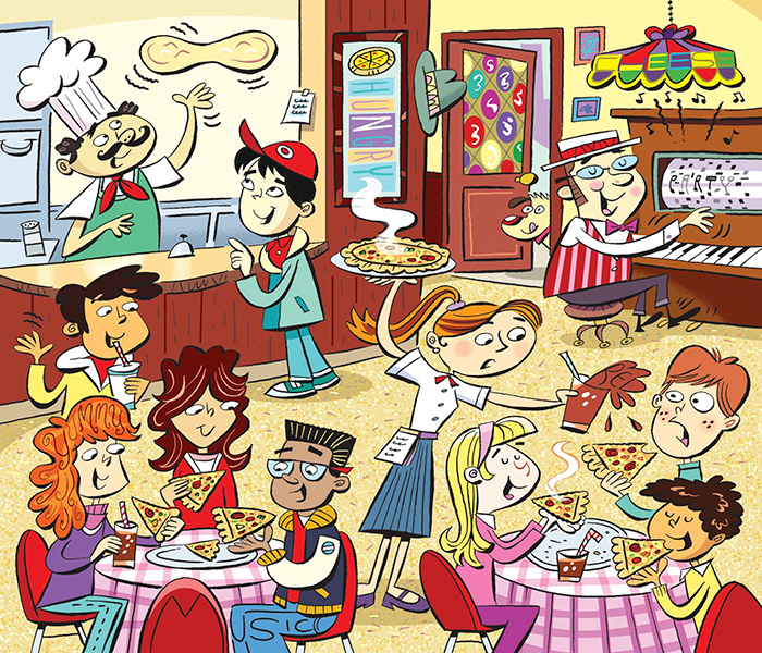 Messy Kitchen Hidden Object Games: Find The 6 Words Hidden In These Drawings! (10 Pics