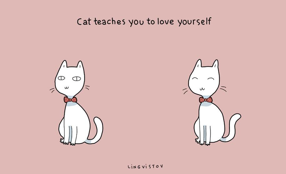 funny-illustrations-pets-benefits-of-having-a-cat-lingvistov-11