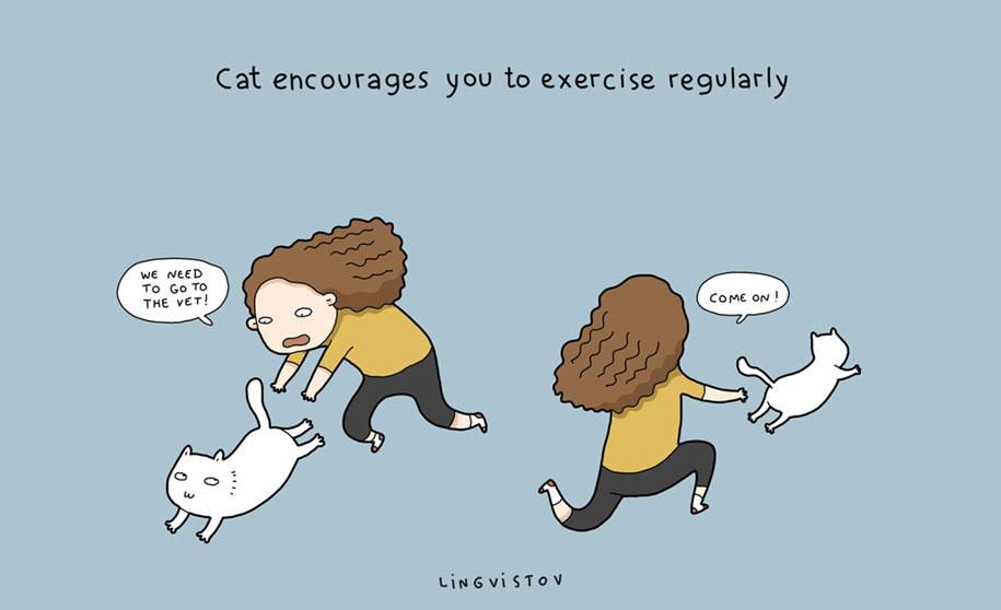funny-illustrations-pets-benefits-of-having-a-cat-lingvistov-6