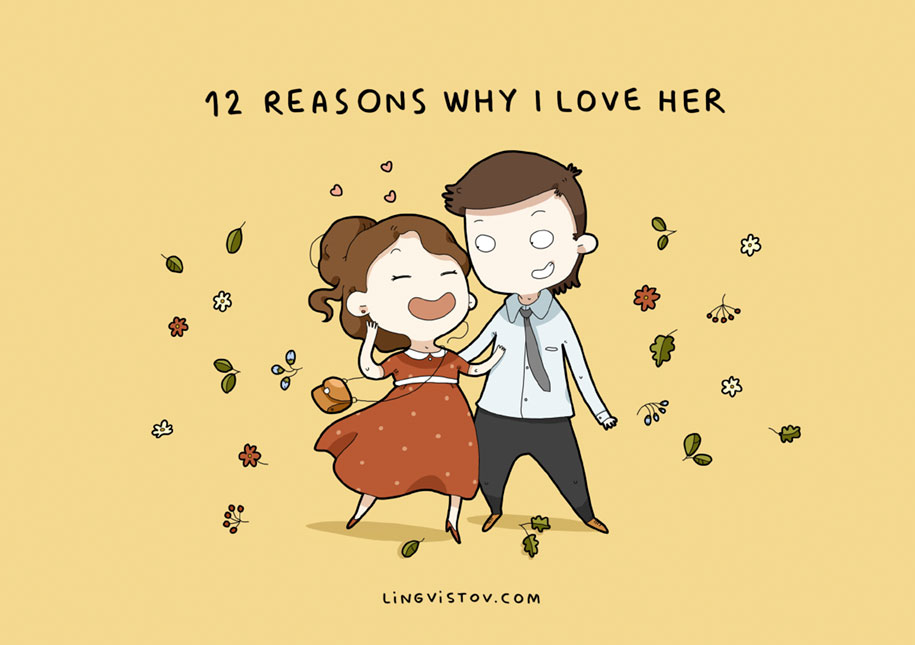 '12 Reasons Why I Love Her' By Lingvistov