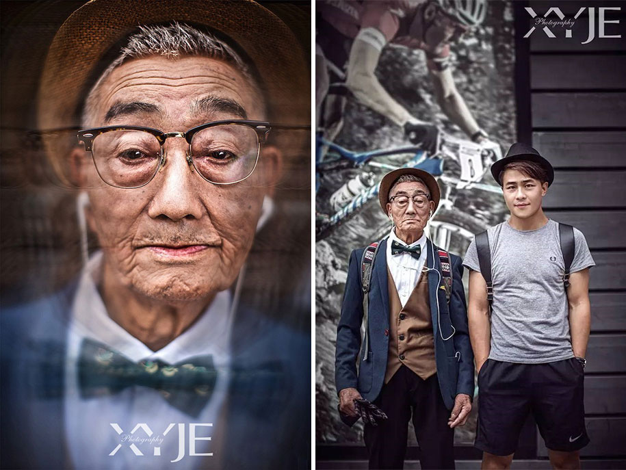 grandfather-farmer-fashion-transformation-grandson-xiaoyejiexi-photography-1
