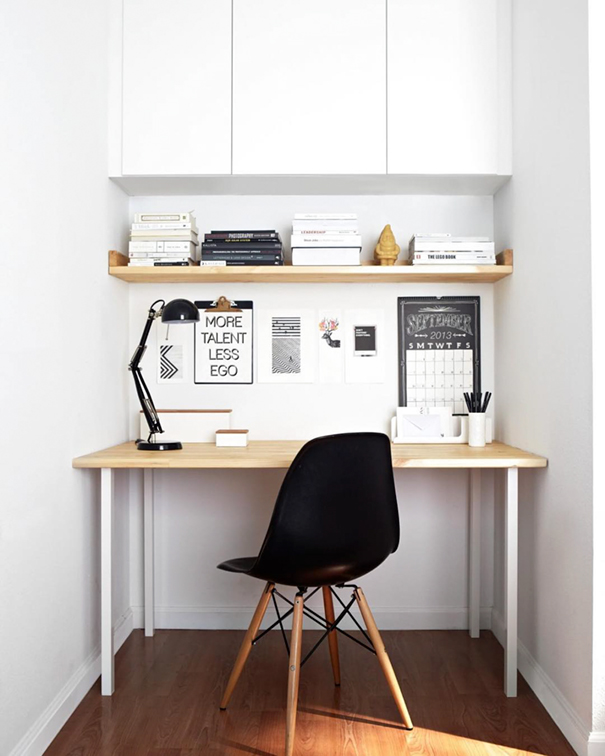 Minimal workplaces instagram account to inspire your desk for Minimalist desk