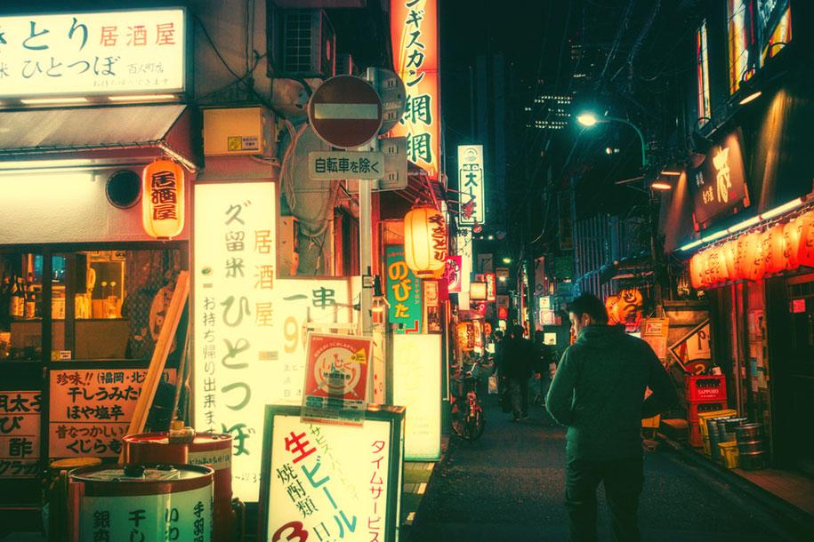 The Magic Of Tokyo Streets At Night In Photos By Masashi Wakui