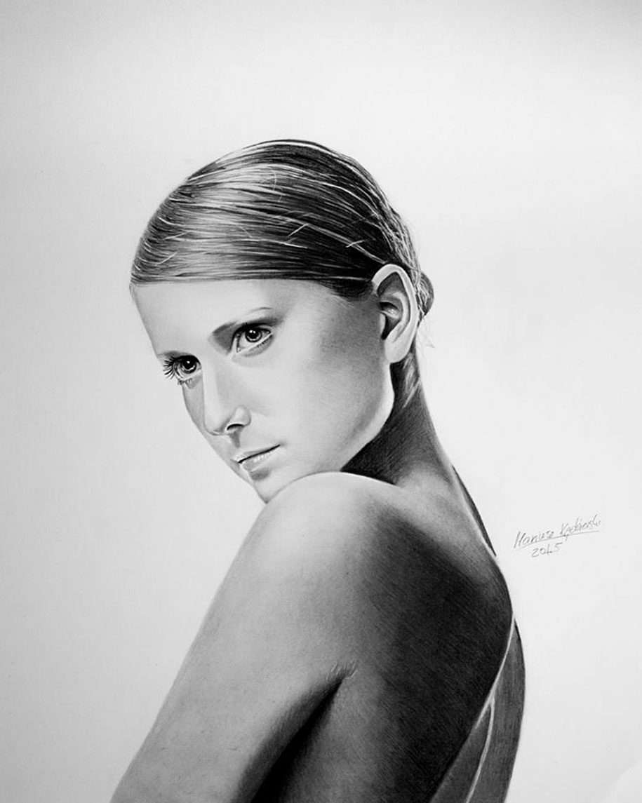 realistic-paintings-portaits-no-arms-mariusz-kedzierski-3