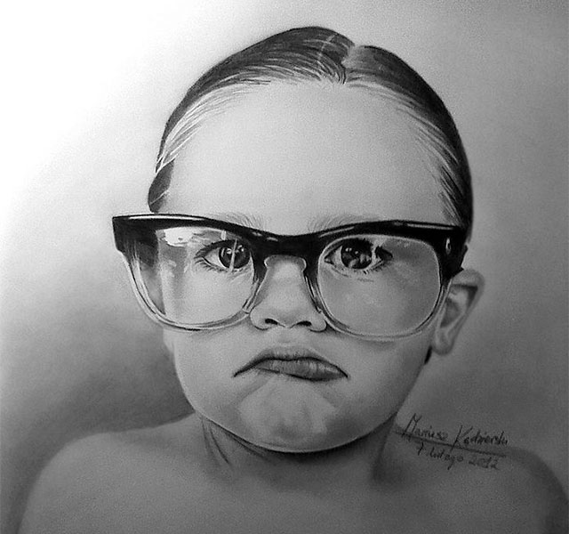 Image of: Realistic Pencil Demilked Artist Born Without Hands Draws Amazing Realistic Drawings